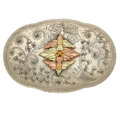 Estate Jewelry:Other , Gold, Sterling Silver Belt Buckle. ...