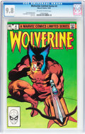Modern Age (1980-Present):Superhero, Wolverine Limited Series #4 (Marvel, 1982) CGC NM/MT 9.8 Off-whiteto white pages....