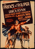 """Movie Posters:Swashbuckler, The Prince and the Pauper (Warner Brothers, 1937). Trimmed Midget Window Card (8"""" X 11""""). Swashbuckler.. ..."""