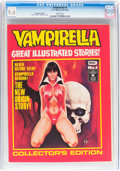 Bronze Age (1970-1979):Horror, Vampirella #1 Australian Edition (K. G. Murray, 1974) CGC NM 9.4White pages....