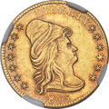 Early Quarter Eagles, 1805 $2 1/2 BD-1, R.4, MS61 NGC....