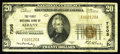 National Bank Notes:Missouri, Albany, MO - $20 1929 Ty. 1 The First NB Ch. # 7205. A scarce andseldom seen note from the sole bank chartered in this ...