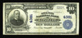 National Bank Notes:Missouri, Kansas City, MO - $10 1902 Plain Back Fr. 627 The Inter-State NBCh. # 4381. There is only one 1902 Plain Back in the ce...