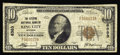 National Bank Notes:Missouri, King City, MO - $10 1929 Ty. 1 The Citizens NB Ch. # 6383. ThisFine example bears the lowest serial number known fo...