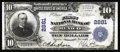 National Bank Notes:Missouri, Mexico, MO - $10 1902 Plain Back Fr. 624 The First NB Ch. # 2881.The pen signatures are still very strong on this popul...