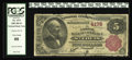 National Bank Notes:Missouri, Saint Louis, MO - $5 1882 Brown Back Fr. 474 The NB of Commerce Ch.# 4178. The cashier is different than on the $10 Bro...