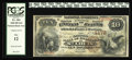 National Bank Notes:Missouri, Saint Louis, MO - $10 1882 Brown Back Fr. 484 The NB of CommerceCh. # 4178. Delicate printed signatures rest upon this ...