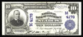 National Bank Notes:Missouri, Saint Louis, MO - $10 1902 Plain Back Fr. 627 The NB of CommerceCh. # (M)4178. This prolific issuer is the source of on...