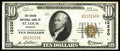 National Bank Notes:Missouri, Saint Louis, MO - $10 1929 Ty. 1 The Grand NB Ch. # 12220. Thisbank had three titles, with the second title being The G...
