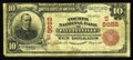 National Bank Notes:North Carolina, Fayetteville, NC - $10 1902 Red Seal Fr. 615 Fourth NB Ch. # (S)8682. This is a just plain rare Fayetteville bank which ...