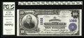 National Bank Notes:Pennsylvania, Allentown, PA - $10 1902 Plain Back Fr. 624 The Allentown NB Ch. #1322. Officers are Frank M. Cressman and Reuben J. Bu...