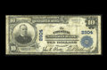 National Bank Notes:Pennsylvania, Chester, PA - $10 1902 Plain Back Fr. 624 The Chester NB Ch. # 2904. An evenly circulated large example with bold black ...