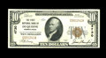 National Bank Notes:Pennsylvania, Duquesne, PA - $10 1929 Ty. 1 The First NB Ch. # 4730. The margins are quite broad for the issue though a bit of handli...