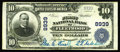 National Bank Notes:Pennsylvania, Fleetwood, PA - $10 1902 Plain Back Fr. 626 The First NB Ch. #8939. With this note, the census moves up to a total of 5...