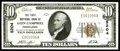 National Bank Notes:Pennsylvania, Glen Campbell, PA - $10 1929 Ty. 1 The First NB Ch. # 5204. Here isone of the great town names in nationaldom. At one t...