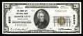National Bank Notes:Pennsylvania, Homer City, PA - $20 1929 Ty. 1 The Homer City NB Ch. # 8855. Whether you collect Pennsylvania or not, this stunningly o...