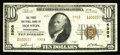 National Bank Notes:Pennsylvania, Houston, PA - $10 1929 Ty. 2 The First NB Ch. # 5908. Tonight'soffering from this elusive Washington County locale is ...