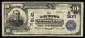 National Bank Notes:Pennsylvania, Maytown, PA - $10 1902 Plain Back Fr. 626 The Maytown NB Ch. #(E)9461. A very scarce Lancaster County bank with just se...