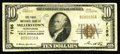 National Bank Notes:Pennsylvania, Millerstown, PA - $10 1929 Ty. 1 The First NB Ch. # 7156. ThisPerry County bank is just plain scarce. Our offering ton...