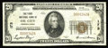 National Bank Notes:Pennsylvania, Oil City, PA - $20 1929 Ty. 1 The First NB Ch. # 173. This bright evenly circulated note is one of 17 Small in the censu...