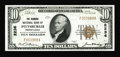 National Bank Notes:Pennsylvania, Pittsburgh, PA - $10 1929 Ty. 1 The Diamond NB Ch. # 2236. A nicelycentered and very fresh example from a bank which i...
