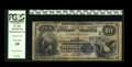 National Bank Notes:Pennsylvania, Pittsburgh, PA - $10 1882 Date Back Fr. 542 The Duquesne NB Ch. #(E)2278. Penned signatures remain on this PCGS Very ...