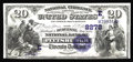 National Bank Notes:Pennsylvania, Pittsburgh, PA - $20 1882 Date Back Fr. 552 The Duquesne NB Ch. #(E)2278. Today's collecting fraternity owes a debt of...