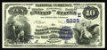 National Bank Notes:Pennsylvania, Pittsburgh, PA - $10 1882 Date Back Fr. 545 The Bank of Pittsburgh,National Assoc Ch. # (E)5225. Big city Nationals can...