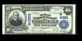National Bank Notes:Pennsylvania, Pittsburgh, PA - $10 1902 Plain Back Fr. 624 The Mellon NB Ch. #(E)6301. BEP engraved signatures of B.W. Lewis and R.B....