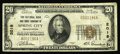 National Bank Notes:Pennsylvania, Spring City, PA - $20 1929 Ty. 1 The NB & TC Ch. # 2018. This national bank has an appropriately named president, E.G. B...