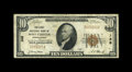 National Bank Notes:Pennsylvania, West Chester, PA - $10 1929 Ty. 1 The First NB Ch. # 148. S.P. Cloud has assumed the presidency on this note. His cashie...