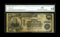 Kingsport, TN - $10 1902 Plain Back Fr. 632 The First NB Ch. # 10842 You can add this note to the 3 Large known on this...