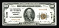 National Bank Notes:Tennessee, Memphis, TN - $100 1929 Ty. 1 Union Planters NB & TC Ch. #13349. A bright and well centered example of this always popu...