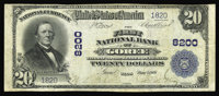 Goree, TX - $20 1902 Plain Back Fr. 651 The First NB Ch. # 8200 This is just the second note reported from this excessi...