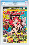 Bronze Age (1970-1979):Miscellaneous, Red Sonja #1 (Marvel, 1977) CGC NM+ 9.6 Off-white to whitepages....