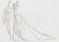 Animation Art:Production Drawing, Sleeping Beauty Maleficent Pan Production Drawing AnimationArt (Walt Disney, 1959)....