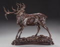 Fine Art - Sculpture, American:Contemporary (1950 to present), TIM SHINABARGER (American, b. 1966). Sounds of September.Bronze with brown patina. 21-3/4 inches (55.2 cm) high. Ed. 7/...
