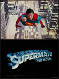 """Movie Posters:Action, Superman the Movie (Warner Brothers, 1978). Italian Photobustas (4)(20"""" X 30""""). Action.. ... (Total: 4 Items)"""