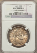 Counterstamps, 1899 50C -- Countermarked 'H.G. RAWSON' -- NGC Details. Unc. NGC Census: (2/153). PCGS Population (3/214). Mintage: 5,538,8...
