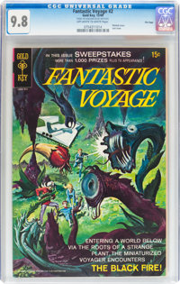 Fantastic Voyage #2 File Copy (Gold Key, 1969) CGC NM/MT 9.8 Off-white to white pages
