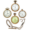 Timepieces:Pocket (post 1900), Four for Repair/Parts. ... (Total: 4 Items)
