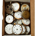 Timepieces:Other , A Lot Of Fifteen Miscellaneous Watches For Parts Or Repair. ...(Total: 15 Items)