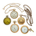 Timepieces:Pocket (post 1900), A Lot Of Five Pocket Watches. ... (Total: 5 Items)