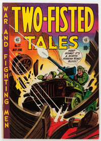 Two-Fisted Tales #27 (EC, 1952) Condition: VF-