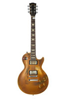 Featured item image of Snowy White's Gibson Les Paul Standard Gold Solid Body Electric Guitar, Serial # 7 2916....