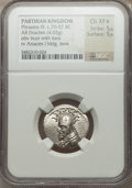 Ancients:Oriental, Ancients: PARTHIAN KINGDOM. Phraates III (ca. 70/69-58/7 BC). AR drachm (4.03 gm)....