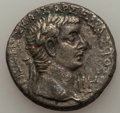 Ancients:Roman Provincial , Ancients: EGYPT. Divus Augustus & Tiberius (AD 14-37). BILtetradrachm (9.67 gm)....