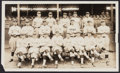 Baseball Collectibles:Photos, 1927 St. Paul Saints Oversized Photograph - With Durocher....