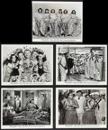 "Movie Posters:Comedy, Navy Blues (Warner Brothers, 1941). Photos (5) (8"" X 10""). Comedy.. ... (Total: 5 Items)"