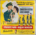 "Movie Posters:Comedy, The Private War of Major Benson & Others Lot (Universal International, 1955). Six Sheet (75"" X 74"") and One Sheets (2) (27"" ... (Total: 3 Items)"